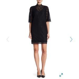 Laundry by Shelli Segal black lace dress